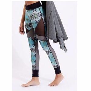 Sweaty Betty Pants - Sweaty Betty Reversible Palm Tree Print   XS